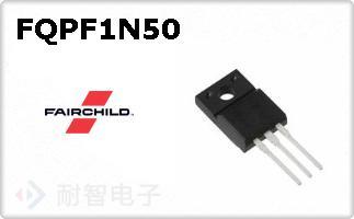 FQPF1N50